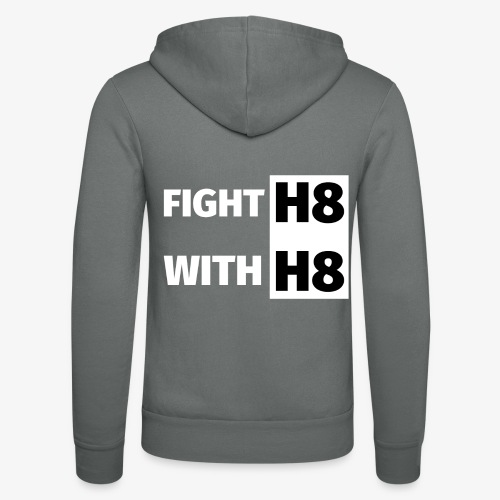 FIGHTH8 bright - Unisex Hooded Jacket by Bella + Canvas