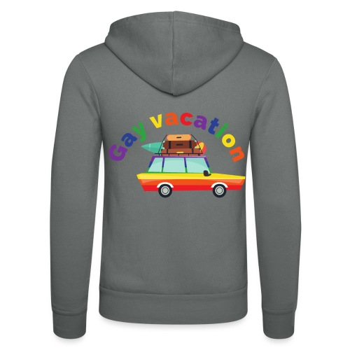 Gay Vacation | LGBT | Pride - Unisex Kapuzenjacke von Bella + Canvas