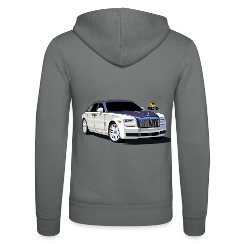 Luxury car - Unisex Hooded Jacket by Bella + Canvas