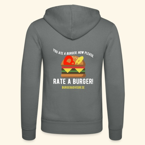 You ate a burger edition - Unisex Hooded Jacket by Bella + Canvas