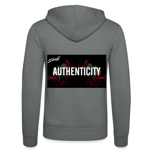 Authenticity - Veste à capuche unisexe Bella + Canvas