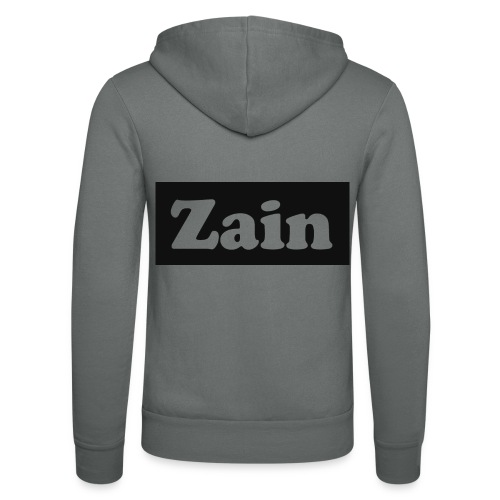 Zain Clothing Line - Unisex Hooded Jacket by Bella + Canvas