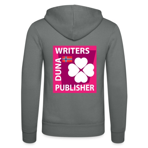 Duna Writers Publisher Pink - Unisex-hettejakke fra Bella + Canvas