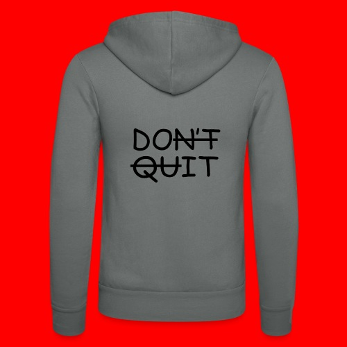 Don't Quit, Do It - Unisex hættejakke fra Bella + Canvas