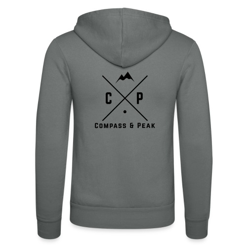 Original Compass & Peak Collection - Unisex Hooded Jacket by Bella + Canvas