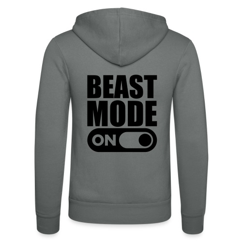 BEAST MODE ON - Unisex Hooded Jacket by Bella + Canvas