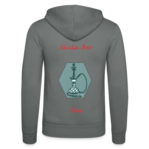 Shisha Bar Time - Unisex Hooded Jacket by Bella + Canvas