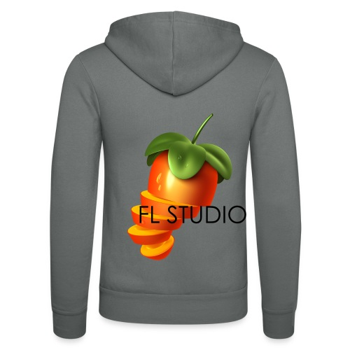 Sliced Sweaty Fruit - Unisex Hooded Jacket by Bella + Canvas