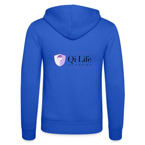 Qi Life Academy Promo Gear - Unisex Hooded Jacket by Bella + Canvas