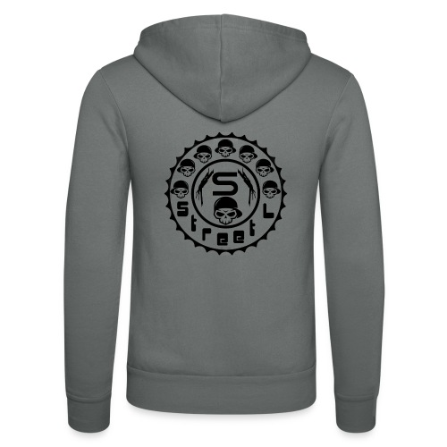 rawstyles rap hip hop logo money design by mrv - Bluza z kapturem Bella + Canvas typu unisex