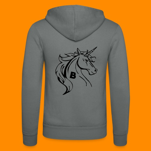 the biodusty unicorn mousepad - Unisex hoodie van Bella + Canvas