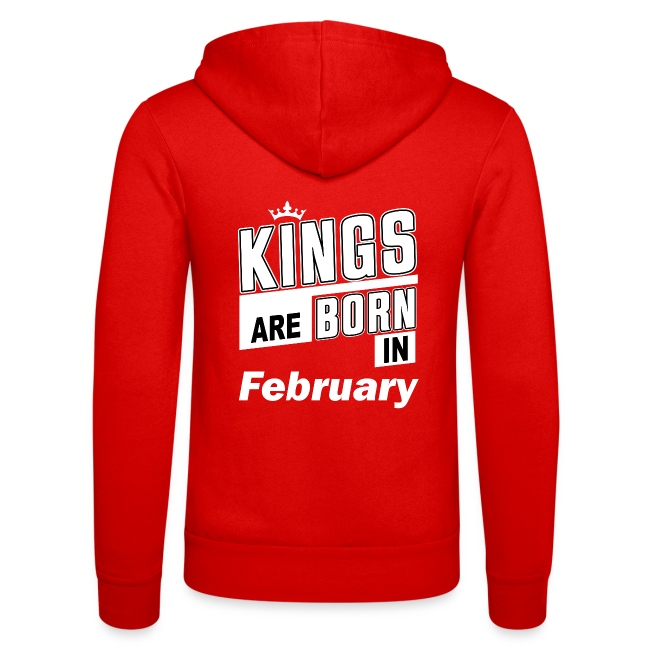 KINGS ARE BORN IN FEBRUARY