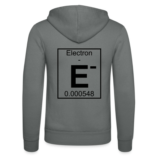 E (electron) - pfll - Unisex Hooded Jacket by Bella + Canvas