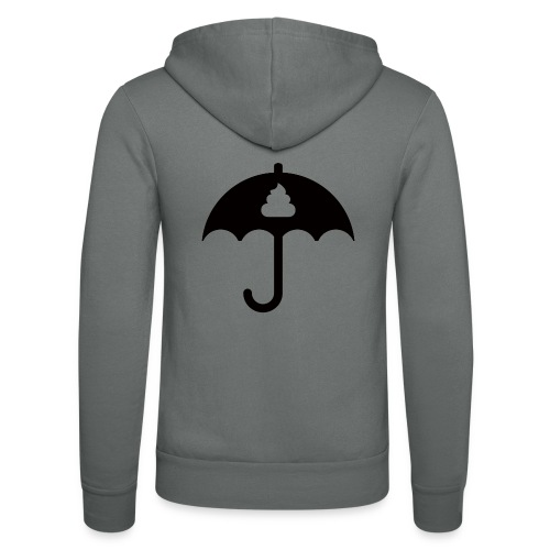 Shit icon Black png - Unisex Hooded Jacket by Bella + Canvas