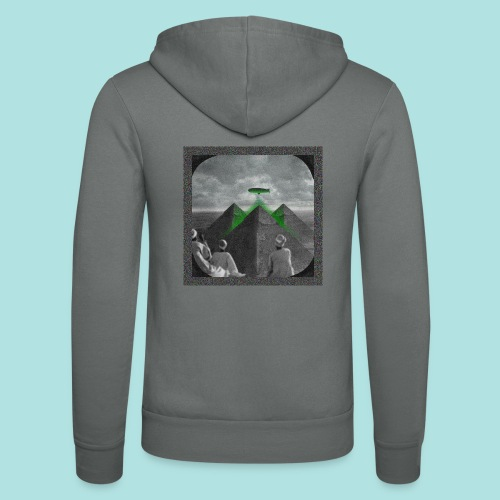 Invaders_sized4t-shirt - Unisex Hooded Jacket by Bella + Canvas