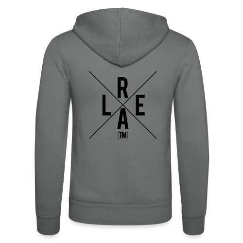 REAL - Unisex Hooded Jacket by Bella + Canvas