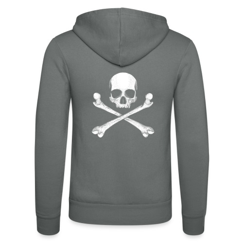 Jolly Roger - Pirate Skull Flag - Unisex Hooded Jacket by Bella + Canvas