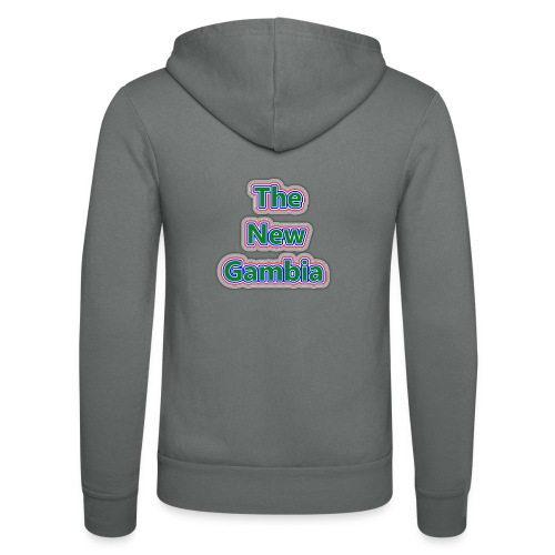 The Nwe Gambia - Unisex Hooded Jacket by Bella + Canvas