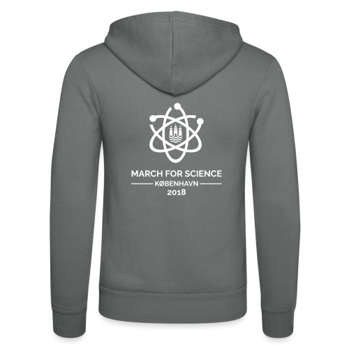 March for Science København 2018 - Unisex Hooded Jacket by Bella + Canvas