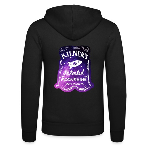 Kilner's Patented Moonshine (Stars) - Unisex Hooded Jacket by Bella + Canvas
