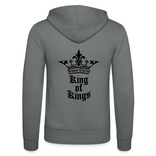 king_of_kings - Unisex Kapuzenjacke von Bella + Canvas