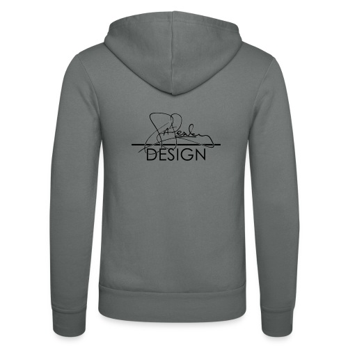 sasealey design logo png - Unisex Hooded Jacket by Bella + Canvas
