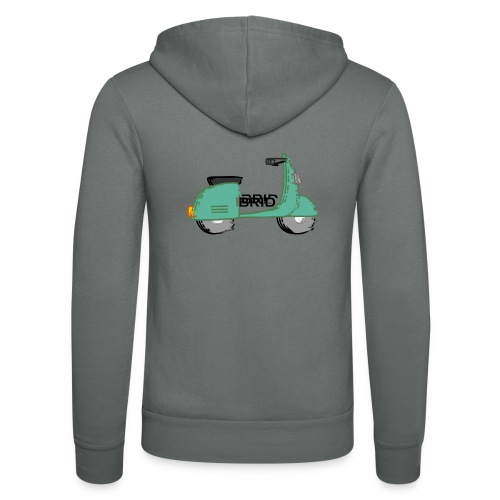 Brid Moped - Unisex Kapuzenjacke von Bella + Canvas