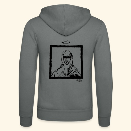 The Unknown: Jesus by buks.one - Unisex Kapuzenjacke von Bella + Canvas