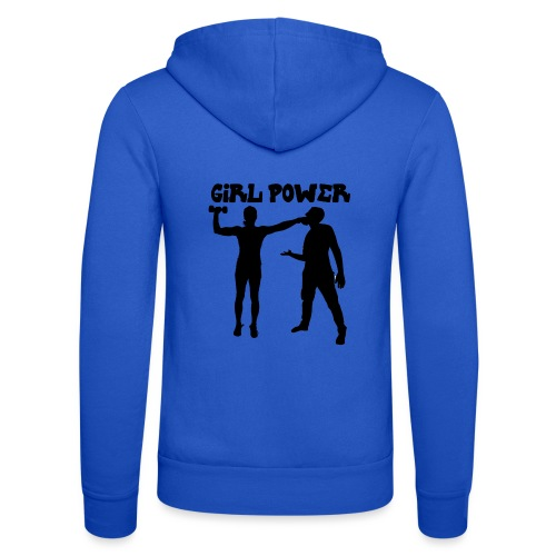 GIRL POWER hits - Nuestra chaqueta con capucha de Bella + Canvas