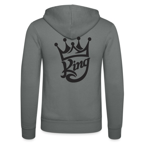 king - Unisex Hooded Jacket by Bella + Canvas