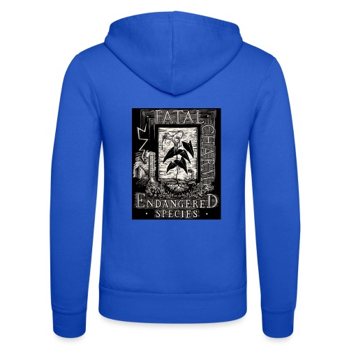fatal charm - endangered species - Unisex Hooded Jacket by Bella + Canvas