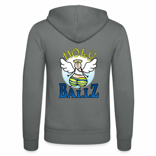 Holy Ballz Charlie - Unisex Hooded Jacket by Bella + Canvas