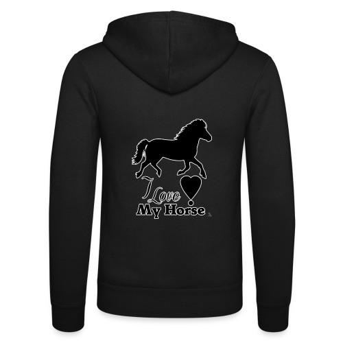 I love My Horse - Unisex Bella + Canvas -hupputakki