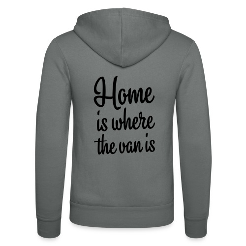 Home is where the van is - Autonaut.com - Unisex Hooded Jacket by Bella + Canvas