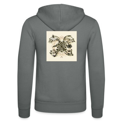 Tortuga 160220 ds. A + - Unisex Hooded Jacket by Bella + Canvas