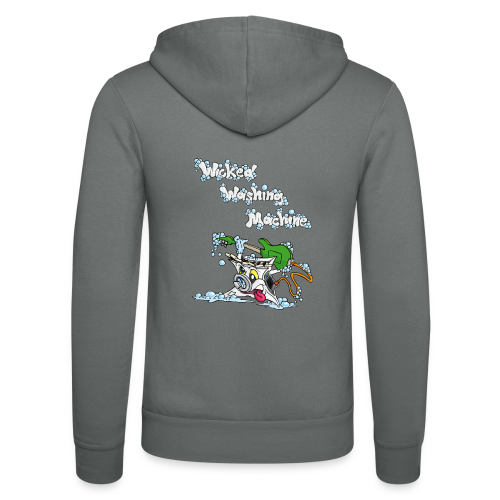 Wicked Washing Machine Cartoon and Logo - Unisex hoodie van Bella + Canvas