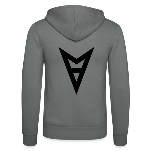 V - Unisex Hooded Jacket by Bella + Canvas