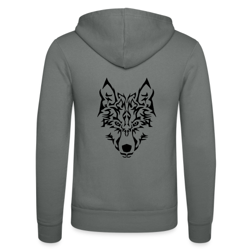 Tribal Wolf - Veste à capuche unisexe Bella + Canvas
