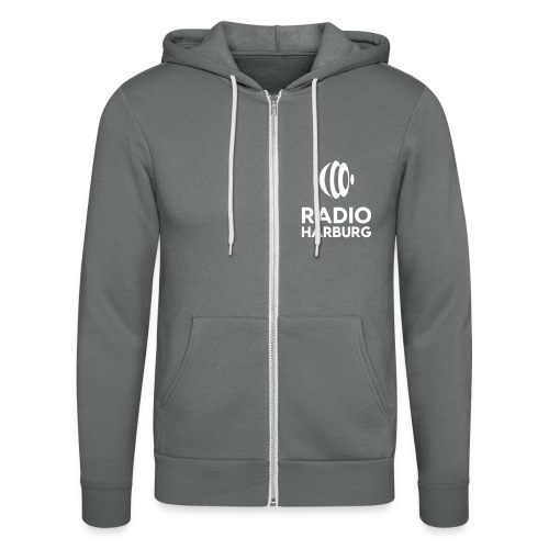 Radio Harburg - Unisex Kapuzenjacke von Bella + Canvas