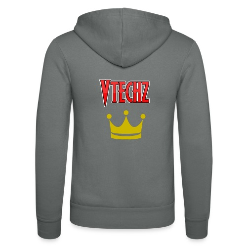 Vtechz King - Unisex Hooded Jacket by Bella + Canvas