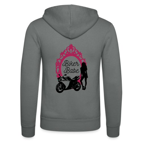 Biker Babe – Racing bike - Unisex Bella + Canvas -hupputakki