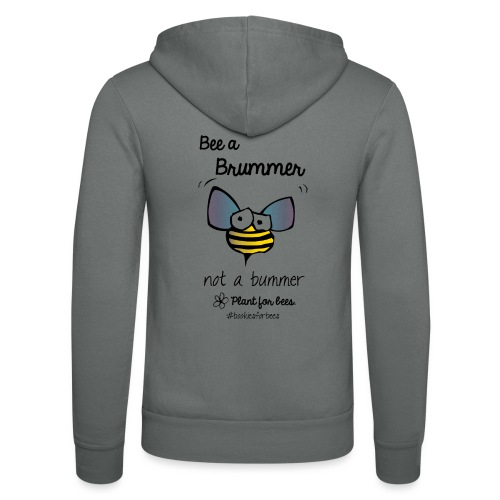 Bees6-1 Save the bees - Unisex Hooded Jacket by Bella + Canvas