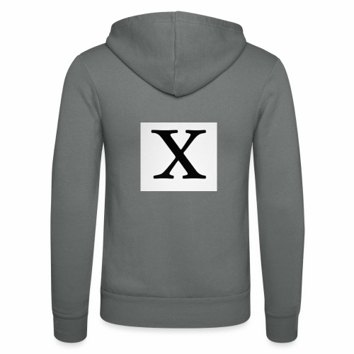 THE X - Unisex Hooded Jacket by Bella + Canvas