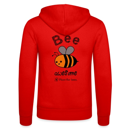 Bees2 - Protect the bees - Unisex Hooded Jacket by Bella + Canvas