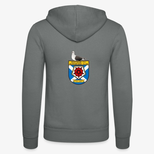 Montrose FC Supporters Club Seagull - Unisex Hooded Jacket by Bella + Canvas