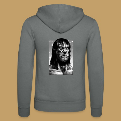 Frankenstein's Monster - Bluza z kapturem Bella + Canvas typu unisex