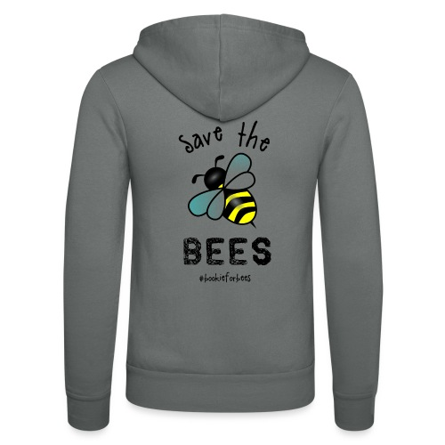 Bees4-1 save the bees | Bookrebels - Unisex Hooded Jacket by Bella + Canvas
