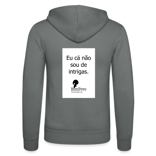 eucanaosoudeintrigas - Unisex Hooded Jacket by Bella + Canvas