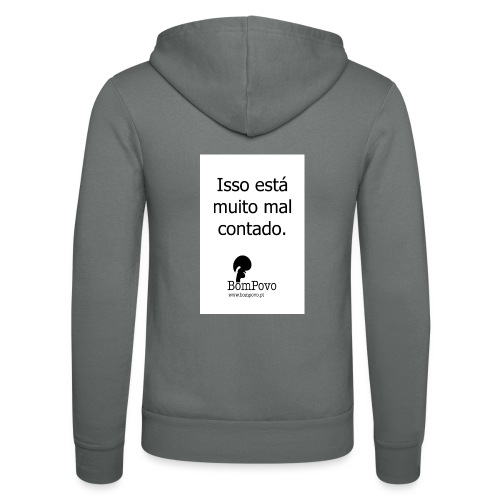 issoestamuitomalcontado - Unisex Hooded Jacket by Bella + Canvas