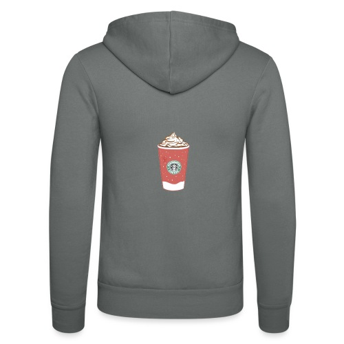 coffee - Unisex Hooded Jacket by Bella + Canvas